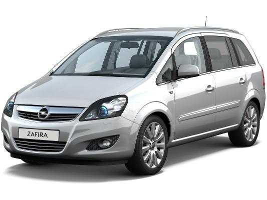 Opel Zafira B (2005-н.в.)