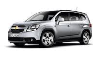 Chevrolet Orlando (2011-н.в.) 7 мест